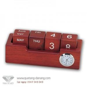Để bàn gỗ đồng _ TTV 0025