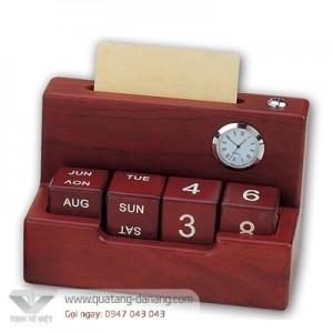 Để bàn gỗ đồng _ TTV 0026