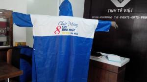 In ấn - Thiết kế - sản xuất áo mưa tại Đà Nẵng